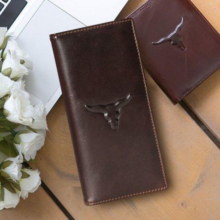 부드러운 가죽과 깔끔한 디자인의 장지갑