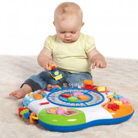 영유아 소근육 발달 완구 장난감 놀이 러닝 테이블