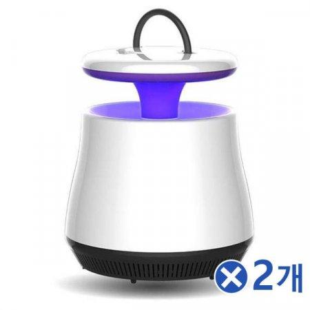 LED 무드등 모기트랩x2개 모기램프 모기잡는법 모기향