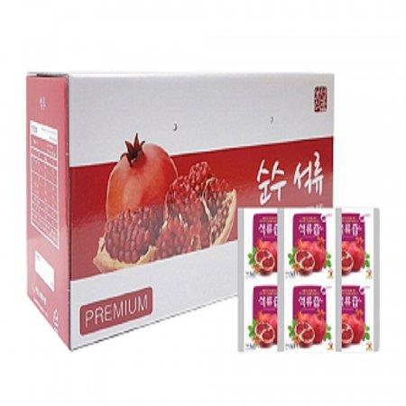 순수 석류 즙 여성 영양제 음식