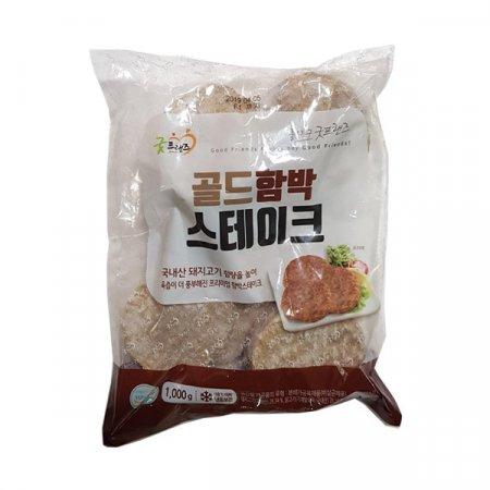 K0490 냉동굿프랜즈골드함박스테이크1kg