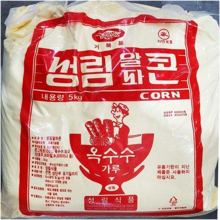 5kg x4개 옥수수 가루 성림 분말 옥수수분 업소용