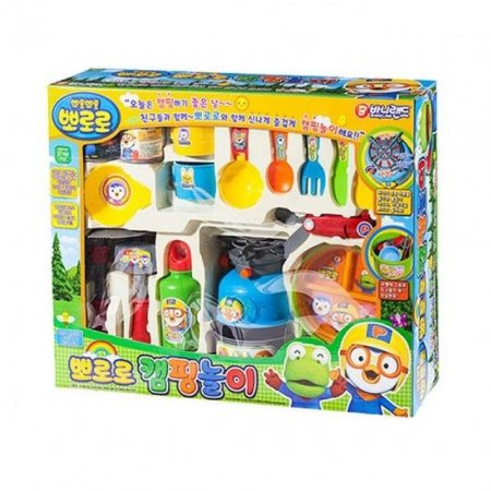 뽀롱뽀롱 뽀로로 캠핑 놀이 장난감