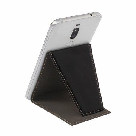 UOU147 거치형 스마트폰 카드포켓 1개 블랙
