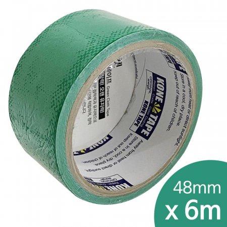 로켓 청면테이프(0395) 48mmX6m 천면테잎 청색 점착