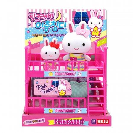 핑크래빗 이층침대 장난감