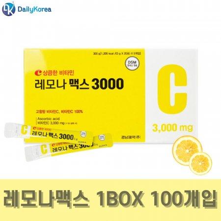 경남제약 레모나 맥스 3000 100포 비타민C 가루분말 D
