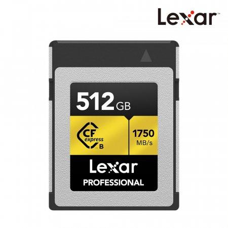 공식판매원 Professional CFexpress Type B 512GB