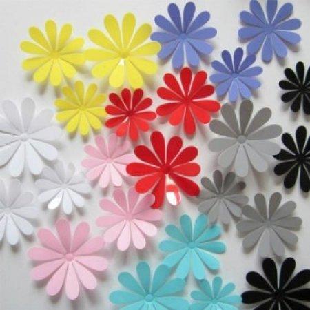 3D꽃포인트벽지(12개입)/포인트스티커/입체벽지