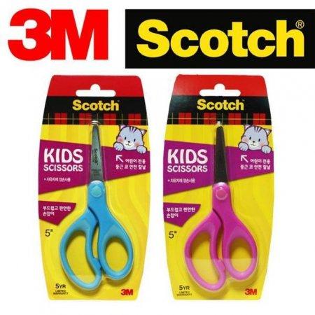 3M 어린이용 안전 양손공작가위