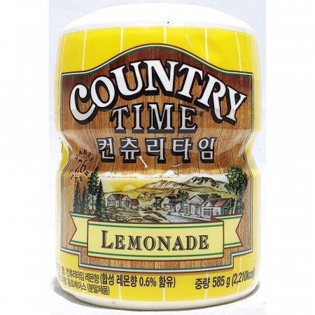 레몬 가루 컨츄리타임 585g x12개 음료 베이스 분말