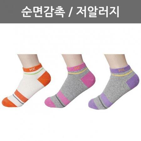 여자 발목양말(심플톤) L9-15 1켤레