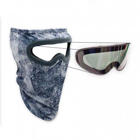 루미 반다나 타입 고글마스크-마스크+편광 고글렌즈