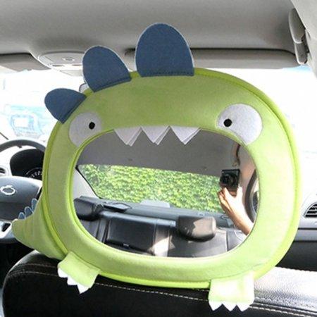 자동차 유아 어린이 뒷자석 안전 거울 사파리 모형