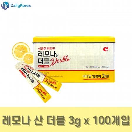 경남제약 상큼한 비타민 레모나 산 더블 3g x 100포 D