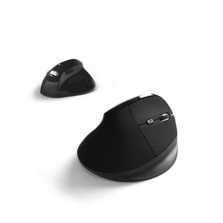 손목보호 버티컬무선 마우스/무소음 2400DPI CYVMS10G