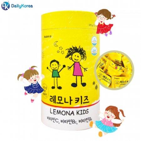 경남제약 레모나키즈 100정 비타민C 간식 캔디 사탕 D