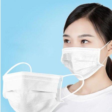 안전 3필터 숨쉬기편한 여름마스크 일회용마스크 50매