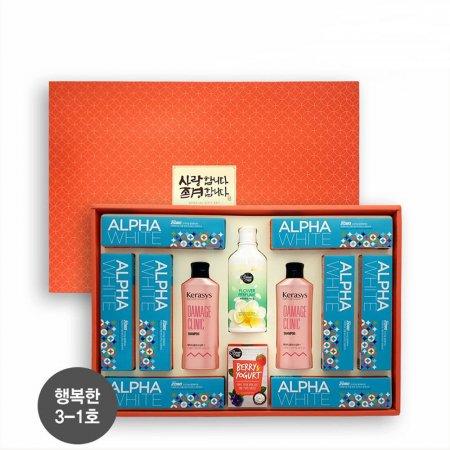 애경 알뜰구성 행복한3-1호 샴푸 린스 명절 선물세트