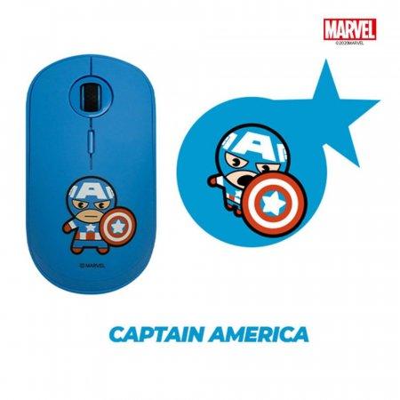 마블 캡틴아메리카 마우스+패드 SET MKM-03 + MKSM-03