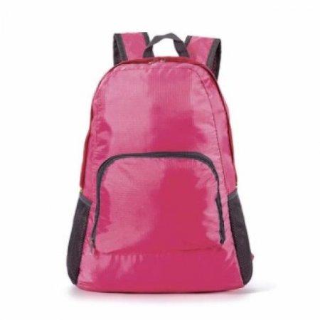 접이식 초경량 백팩 보조가방/라이딩 등산(핑크)