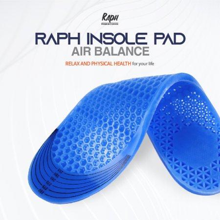 [초특가] 라프 에어밸런스 족저근막염 기능성신발깔창 평발교정 맞춤깔창 군인용품 편한간호화 안전화