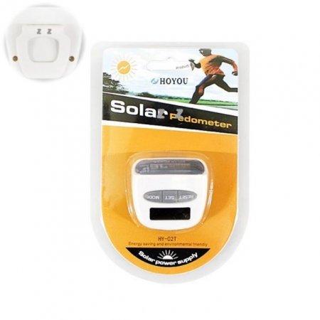 다기능 만보기 태양열 충전 3모드