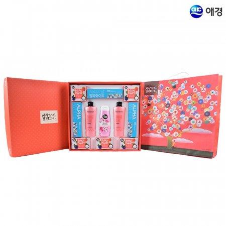 애경 행복한2호 샴푸 바디워시 명절 선물세트