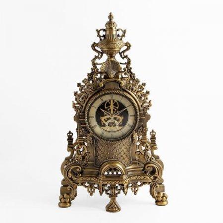 엔틱 인테리어 골드캐슬 탁상시계 인테리어시계