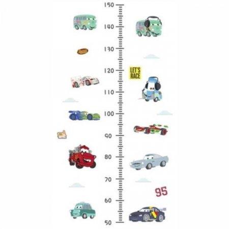 아이방 꾸미기 키재기스티커-자동차 키재기자 아기방