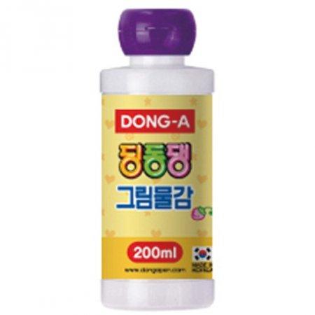 딩동댕 그림물감(200ml/남보라/동아)