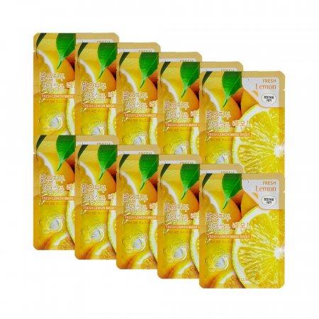 3W 후레쉬 레몬 마스크 시트 10매