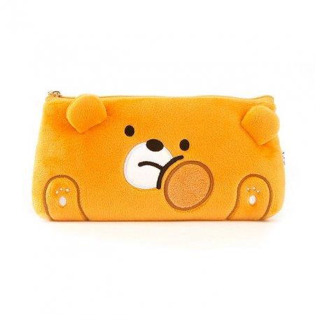 B패밀리 롱파우치 곰돌이 주머니 미니 가방 디자인