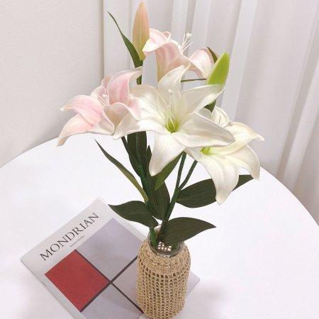 백합 PU조화 / 조화꽃 촬영소품 인테리어소품