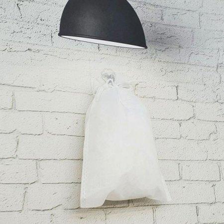 부직포 가방 화이트 소