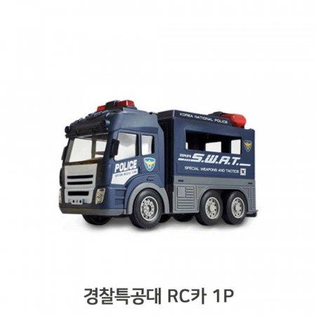 LED라이트 경찰특공대 RC카 1P 무선조종차 사이렌