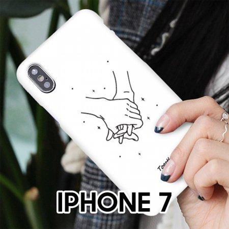 드로잉핸드 아이폰7 실리콘 케이스