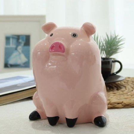 장식품 돼지저금통 데코 인형소품 조형 선반 장식