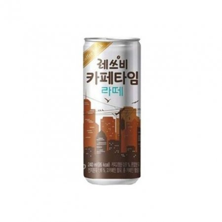 롯데칠성 레스비 카페타임 캔 라떼 240ml x 30