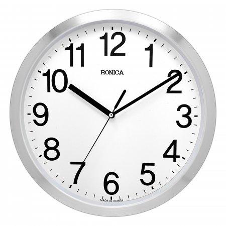로니카 무소음 알루미늄벽시계 R305A