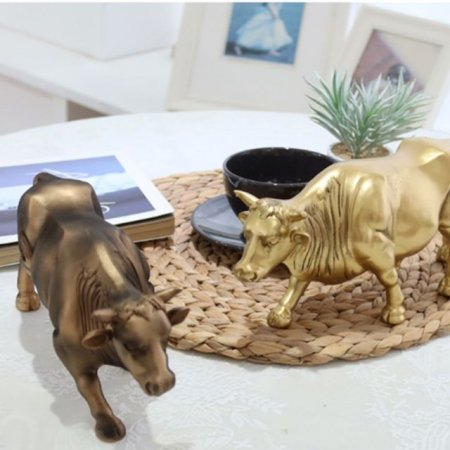 황소장식품 2color 선반 조각상 조형 데코 인형소품