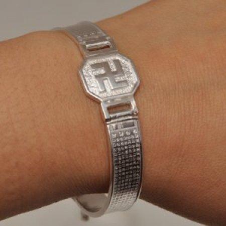 만자시계형 팔찌(반야심경10mm)  JD71203