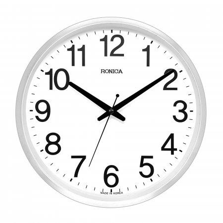 로니카 무소음 알루미늄벽시계 R355A