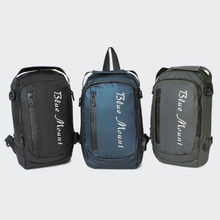 학생 USB 슬링백 백팩 크로스백 멀티 캐주얼 가방