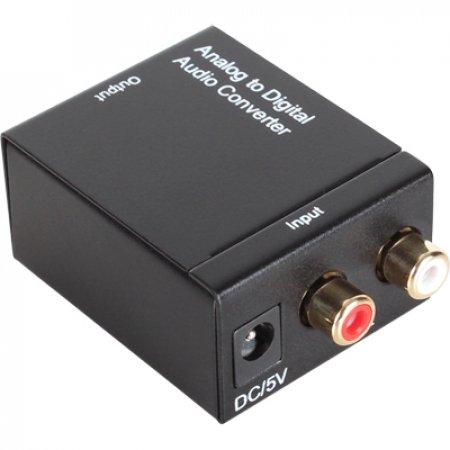 아날로그 디지털 오디오 컨버터RCA to Toslink(광) + Coaxial(동축)