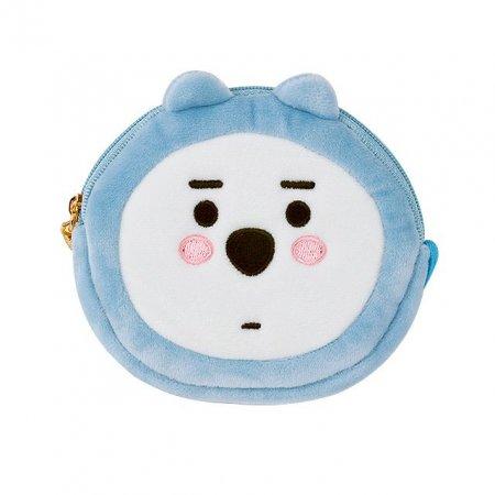 B패밀리 원형 파우치 북극곰 화이트 곰돌이 소품
