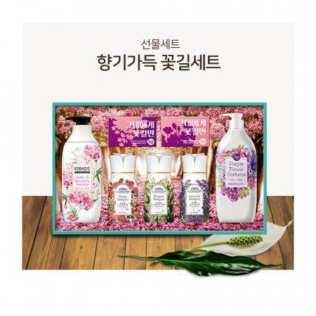 애경 향기가득 꽃길세트 퍼퓸향 선물세트 설 추석