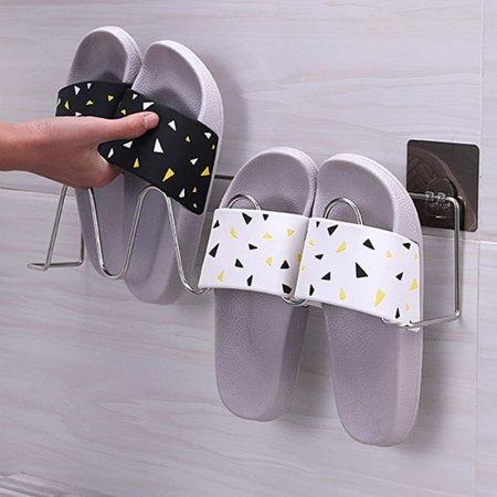 스틸 실내화 걸이 욕실화 거치대 신발정리대