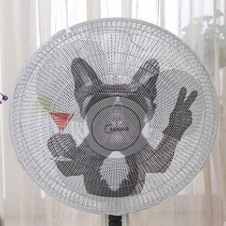 ABM 선풍기 안전망-칵테일 강아지