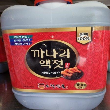 서해근해산 맛깔나고 정직한원료까나리액젓 9kg